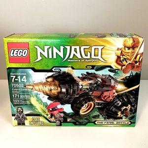 LEGO Ninjago Final Battle Cole's Earth Driller Set